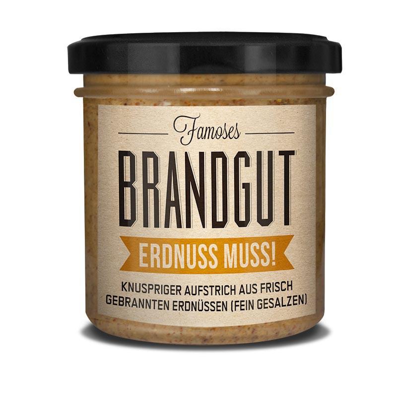Brandgut - Erdnuss muss!