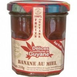 Delices - Couleur de Guyane - Konfitüre Banane - Honig