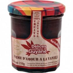 Delices - Couleur de Guyane - Konfitüre Liebesapfel mit Vanille