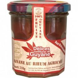 Delices - Couleur de Guyane - Konfitüre Banane - Rum