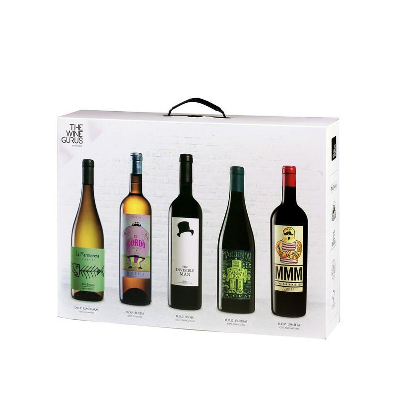 Caja Blanca - Die weisse Box mit 5 Weinen