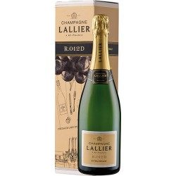 Champagne L'Allier - R.012 Extra Dosage - Geschenkbox