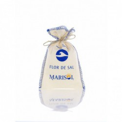 Marisol - Flor de Sal im Stoffbeutel - 100 gramm