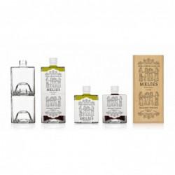 Elèia - Essig & Öl Geschenkset - Holzbox mit 2 x 250 ml