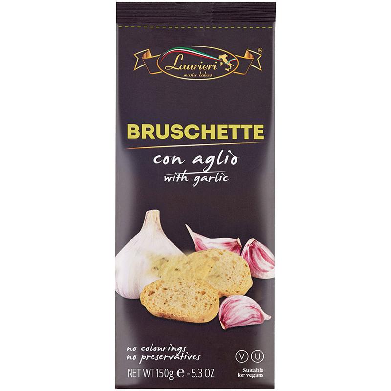 Laurieri - Bruschettine con Aglio