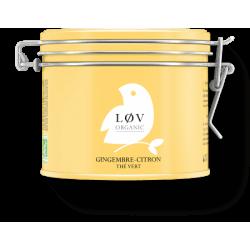 Lov Organic Grüner Tee Ingwer - Zitrone -bio