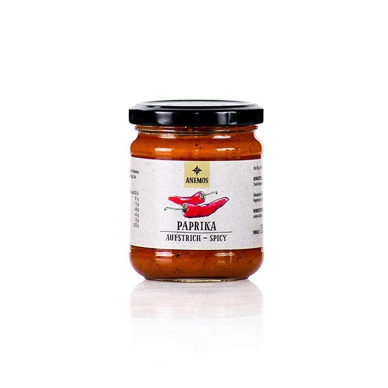 Anemos - Paprika Aufstrich spicy - pikant