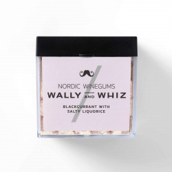 Wally and Whiz - Nordic Gourmet Winegums Black Currant & Salty Liquorice