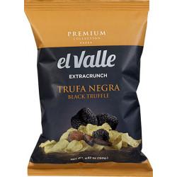 El Valle - Patatas Fritas Black Truffle - Kartoffelchips mit schwarzem Trüffel