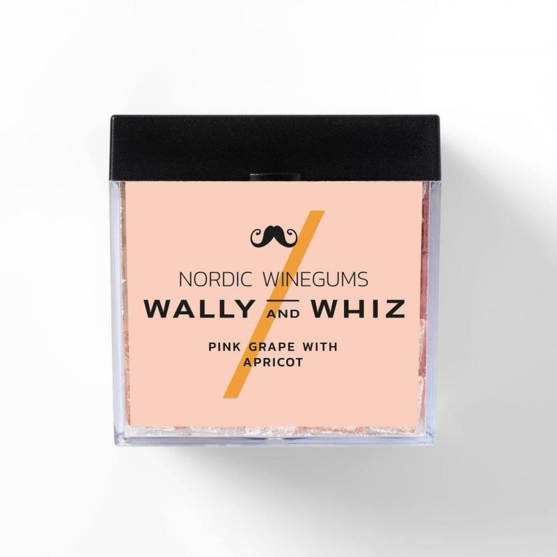 Wally and Whiz - Nordic Gourmet Winegums Pink Grapefruit & Apricot