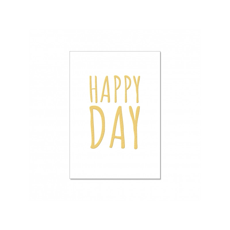 Postkarte - Happy Day