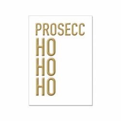 Postkarte - Prosecco ho ho ho