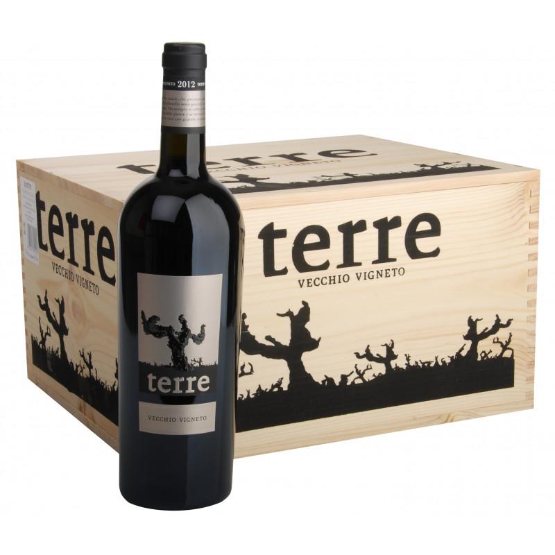 2019 Terre Vecchio Vigneto - Rosso Puglia IGT- 6er Holzkiste