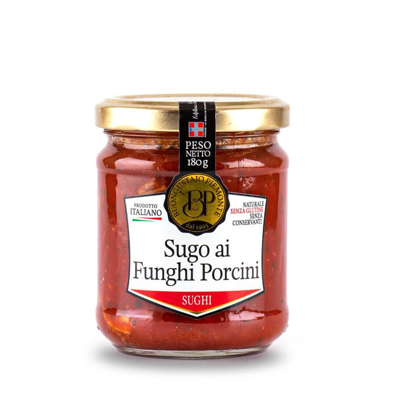 Sugo ai Funghi Porcini - Tomatensoße mit Steinpilzen