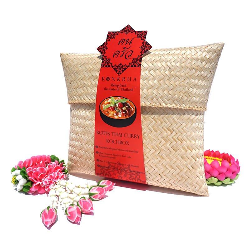 Konkrua - Rotes Thai Curry Kochbox