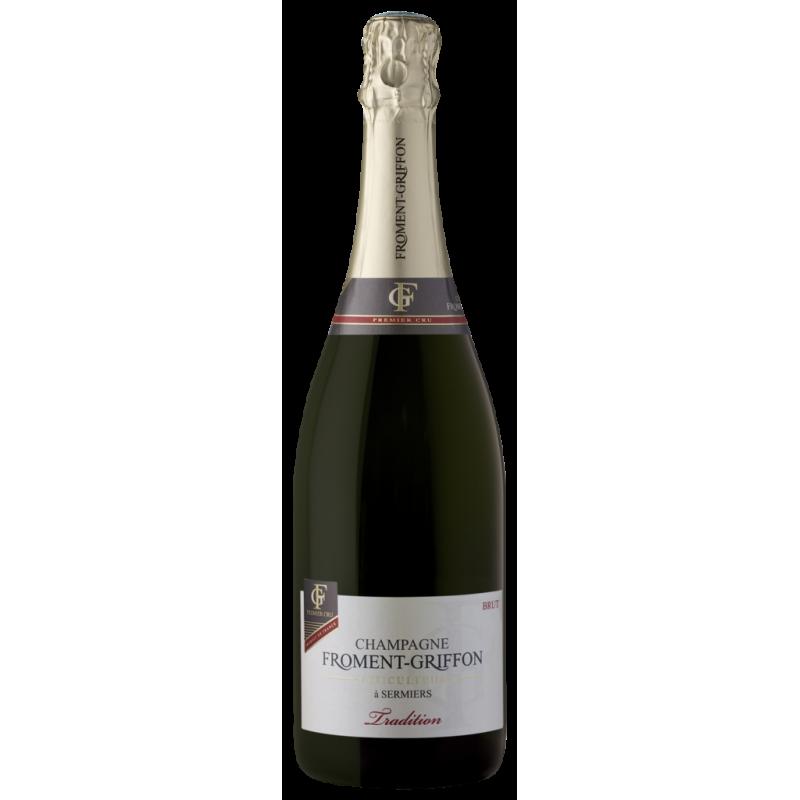 Cuvee Tradition 1er Cru brut - Froment-Griffon - Champagne AOC