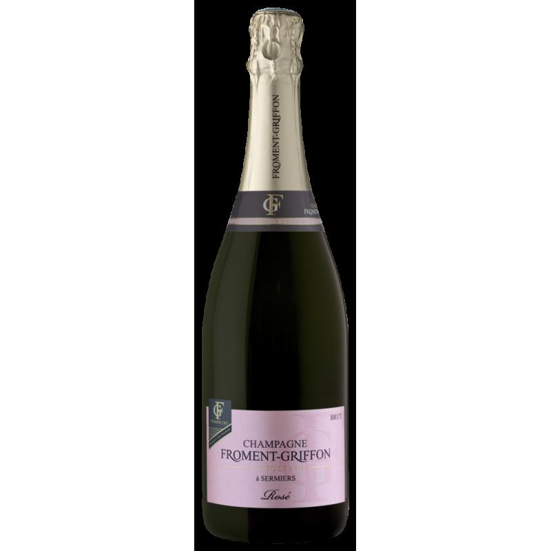 Cuvée Rosé 1er Cru brut - Froment-Griffon - Champagne AOC