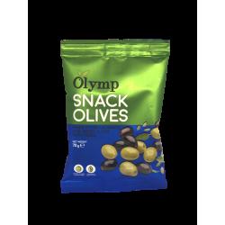 Olymp - Grüne und Kalamata Snack Oliven mit Kräutern
