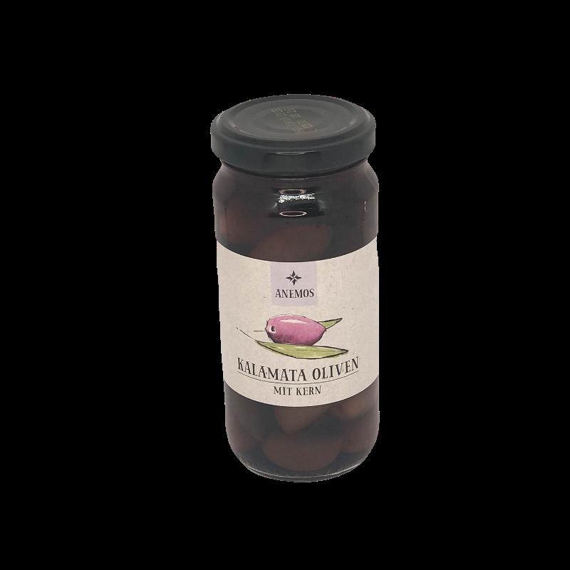 Anemos - Kalamata Oliven mit Kern