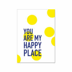 Postkarte - you are my happy place