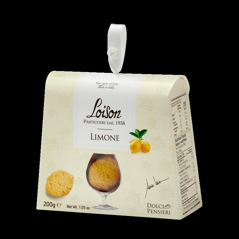 Biscotti Burro Limone in astuccio - Limonen Butterkekse
