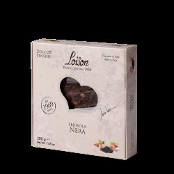 Sbrisola Nera - Gebäck aus dunkler Schokolade mit Haselnüssen, Haselnusscreme und Kakao
