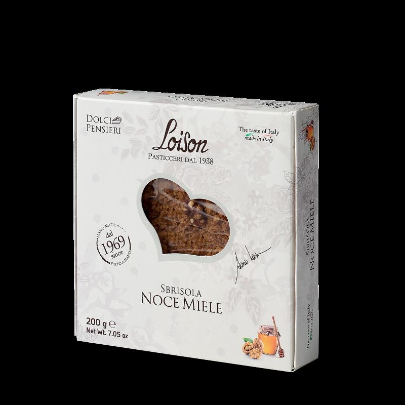 Sbrisola Noce Miele - Gebäck aus Butter mit Walnüssen und Honig