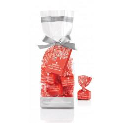 Tartufi dolci mirtilli & ciocoolato rosa sacchetto - Tüte mit Tartufi Schokolade mit Preiselbeeren