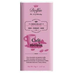 Dolfin Zartbitter mit fein gemahlenem Kaffee - 60%