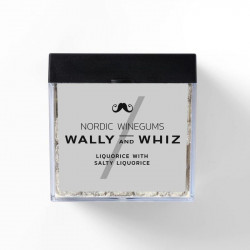 Wally and Whiz - Nordic Gourmet Winegums Liquorice & salzigem Lakritz