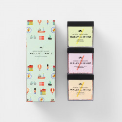 Wally and Whiz - Dänemark Box - 3 Cubes