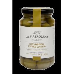 Masrojana - Manzanilla Oliven mit Stein