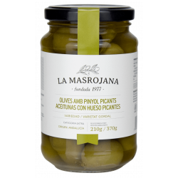 Masrojana - Pikante Oliven mit Stein
