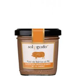 Sol y Gusto - Paté de Iberico al PX - Pastete vom Iberico-Schwein mit PX Sherry