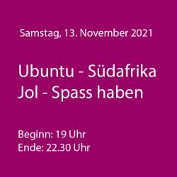 Ubuntu - Südafrika - WeinThemenAbend November 2021