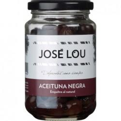 Aceituna Aceituna Negra 'Empeltre' al Natural schwarze Oliven in Salz