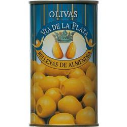 Aceitunas Rellenas de Almendra Grüne Oliven gefüllt mit Mandelpaste