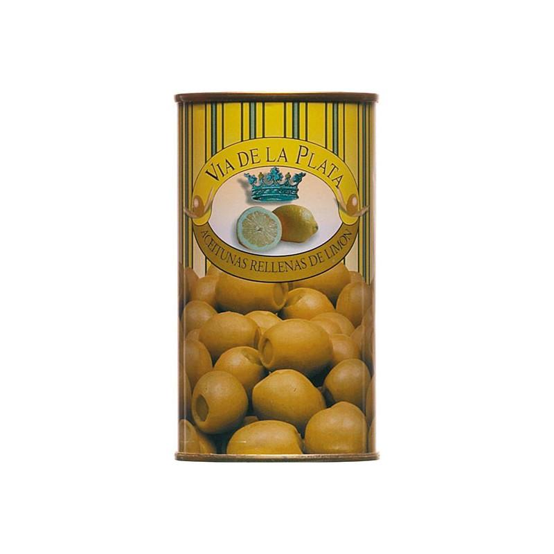 Aceitunas Rellenas de Limon Grüne Oliven gefüllt mit Zitronenpaste